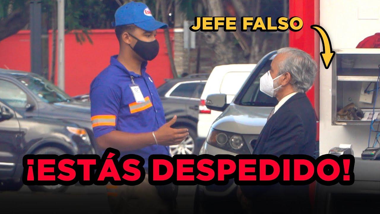 ME HAGO PASAR POR JEFE Y DESPIDO EMPLEADOS 😰 (BROMA PESADA DEL JEFE FALSO)