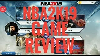NBA2K19 For Android Game Review