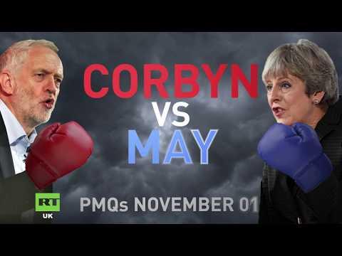 PMQs: Jeremy Corbyn vs. Theresa May - November 1st 2017