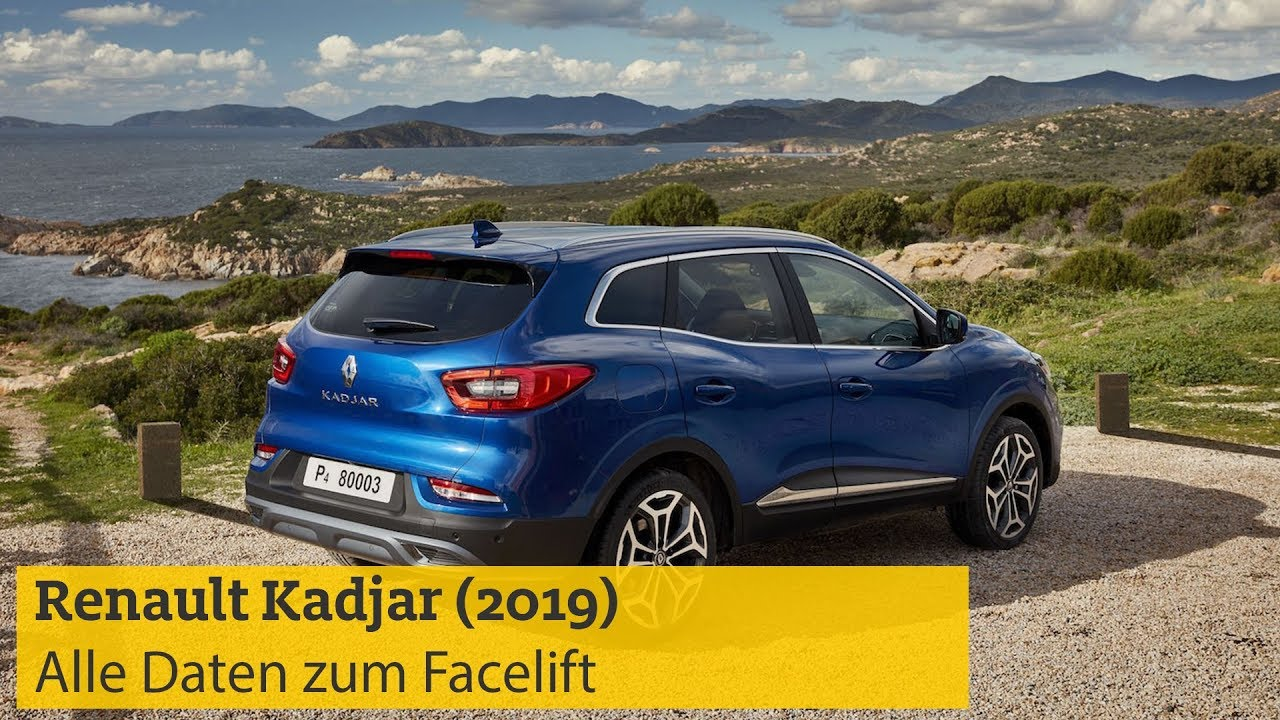 renault kadjar 2019 alle daten zum facelift des. Black Bedroom Furniture Sets. Home Design Ideas
