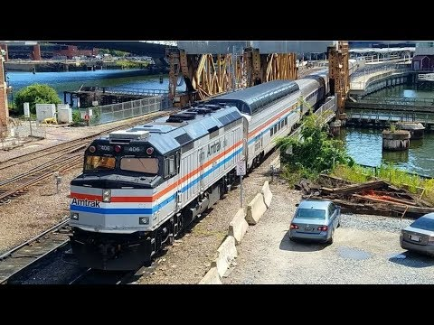 Railfanning North Station with Amtrak 406, Races, Meets, Equipment Moves, and Much More!