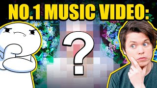 Can YouTubers Guess The BIGGEST Music Video On YouTube?