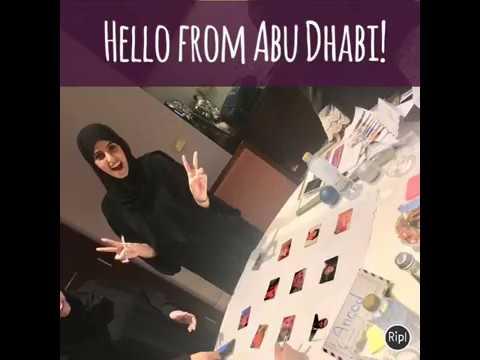 Hello from Abu Dhabi!