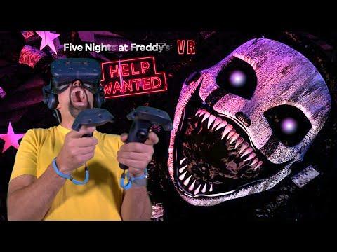 NIGHTMARIONNE NIGHT TERRORS + KOPI CAM!! | Five Nights At Freddy's VR: Help Wanted [FNAF VR]