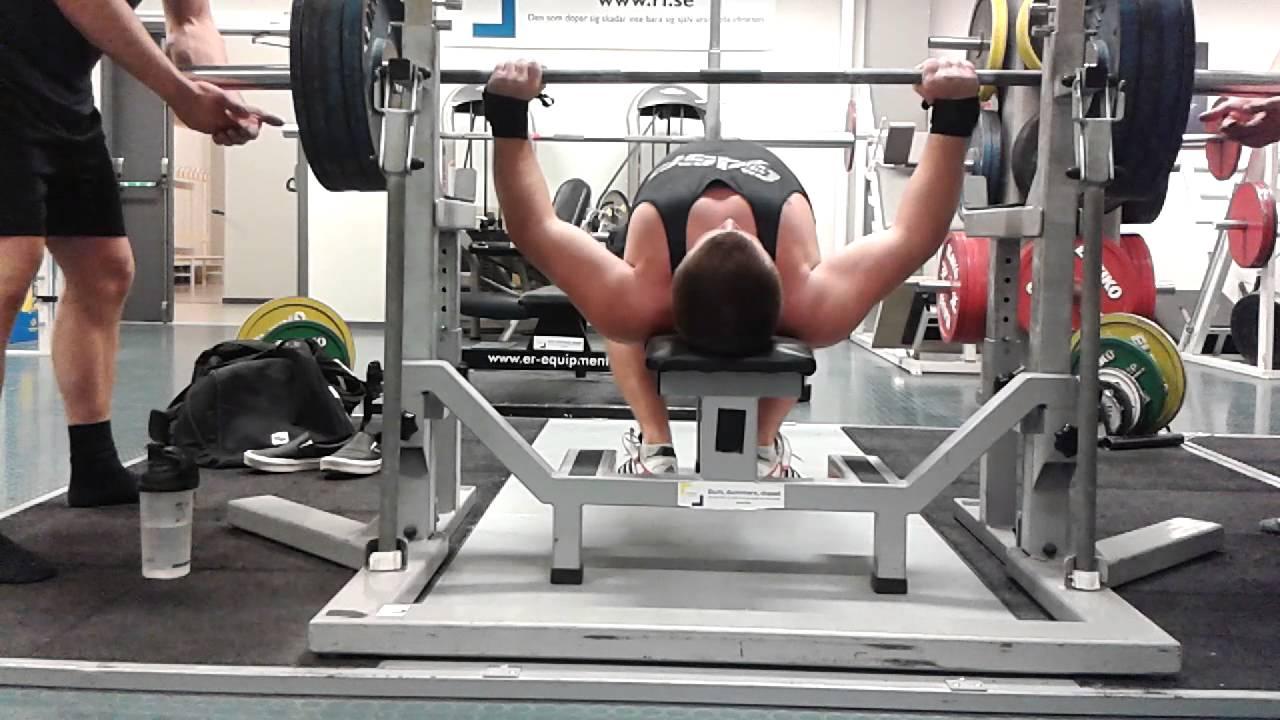 Exceptional 400 Lb Bench Press Club Part - 13: Bench Press 180kg (400 Lbs)