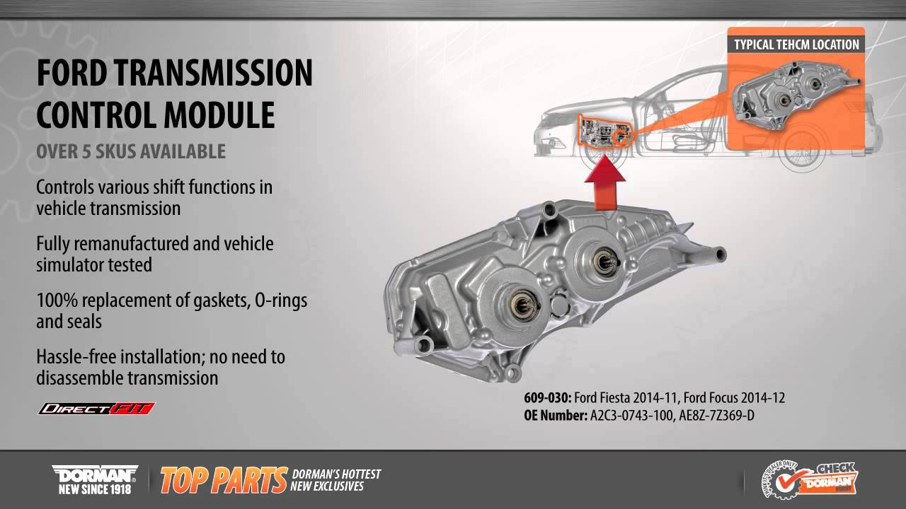 Ford Transmission Control Module  YouTube