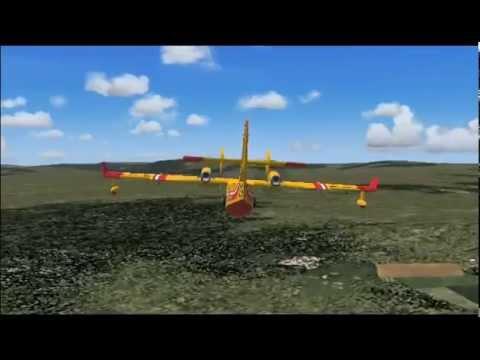 Flight Simulator IX - Canadair depuis Vias (34-France)