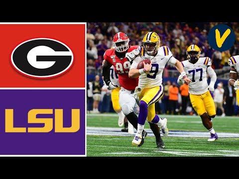 #4 Georgia Vs #2 LSU Highlights | 2019 SEC Championship