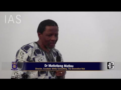 Part 2: Dr Matlou: The UN Decade of People of African Descent 2015-2024
