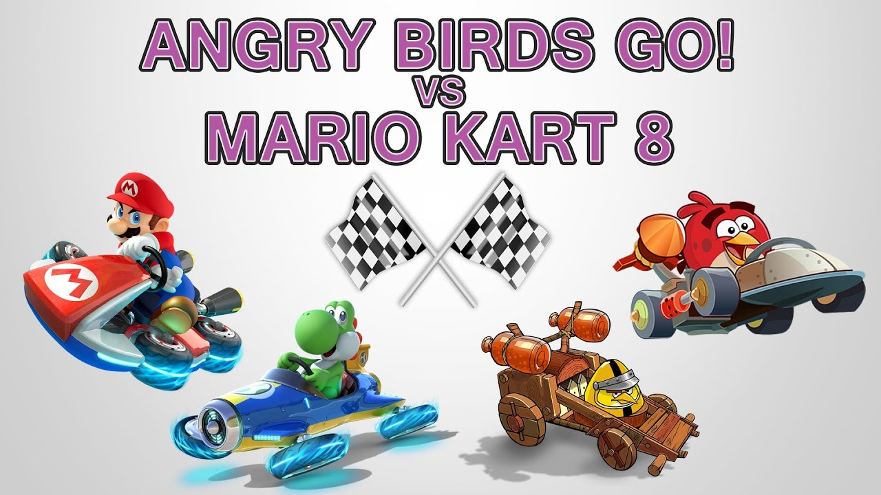 Angry Birds Go! Is Better Than Mario Kart 8