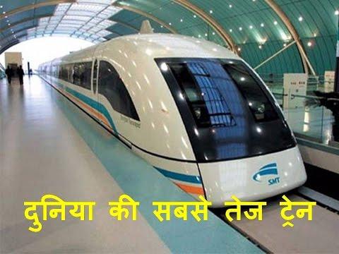 दुनिया की सबसे तेज ट्रेन। Fastest Train in the World