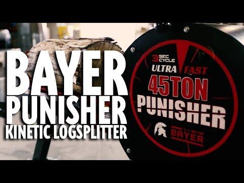Bayer CLS45 Punisher Kinetic Log Splitter - Test/Review