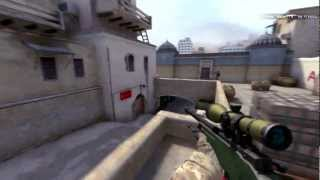CS: GO Na'Vi Markeloff vs Anexis AWP Wallbang Pro Highlights on de_dust2_se @ Fnatic Frag Out
