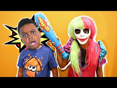 Shasha Becomes Joker Girl! - Shiloh Crazy Pranks - Onyx Kids