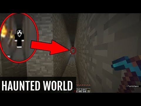 I downloaded a HAUNTED Minecraft World This is what I found Full Minecraft Documentary