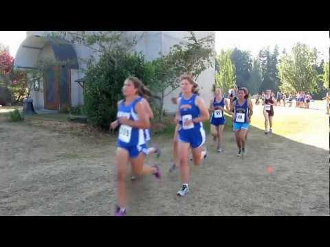 Cross Country Meet, Girls, Battle Point Park, Bainbridge Island, September 19, 2012