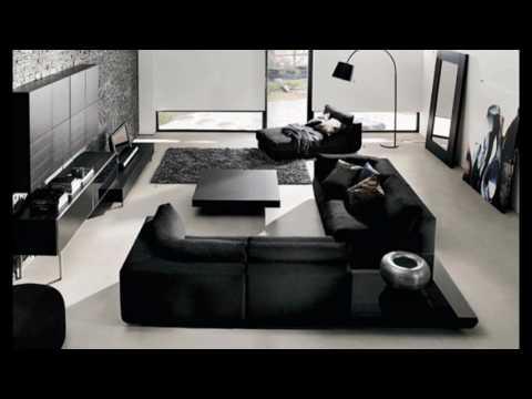 Idées de salon moderne gris