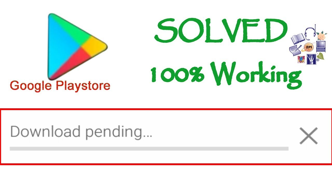 How to fix Download Pending Error in Google play store - Solved 100% working