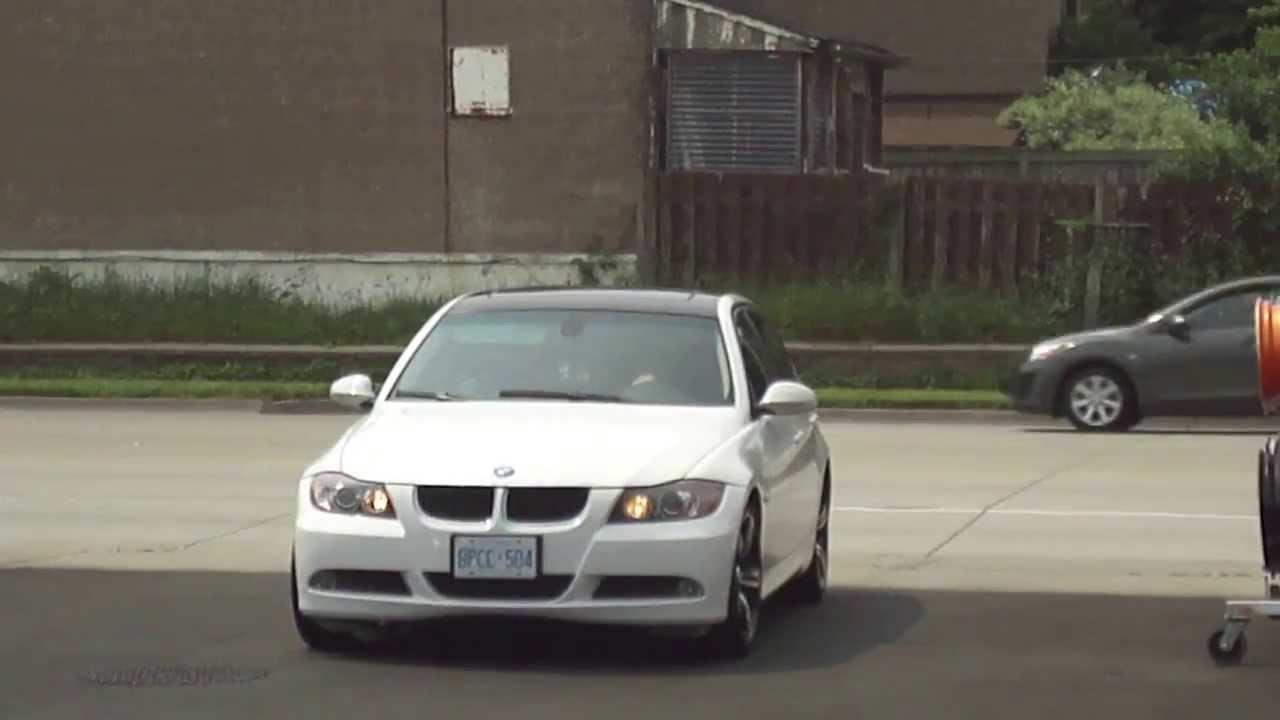 HILLYARD CUSTOM RIM&TIRE 2006 BMW 3 SERIES ROLLING ON 18 ...