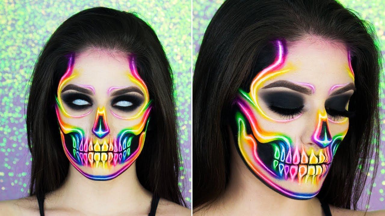 10 Skull And Skeleton Makeup Ideas 2019 Last Minute Halloween Beauty Tutorials