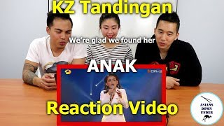 KZ Tandingan - ANAK | Reaction Video - Aussie Asians | Episode 12 谭定安《给孩子》-单曲纯享 第12期
