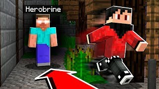 I FOUND Herobrine in Minecraft and THIS Happened..