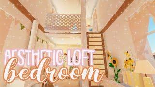 How To Build A Bedroom Loft! Roblox Bloxburg Bedroom Idea