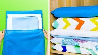 20 SMART BEDROOM HACKS TO MAKE YOUR LIFE EASIER