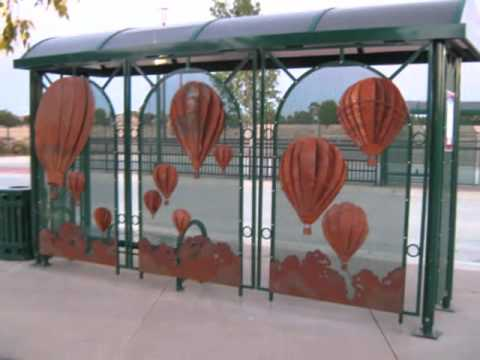 Pauline Tolman 'Travel through Time' Making the Tracy Transit Station Murals