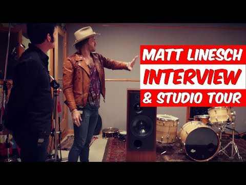 Matt (Linny) Linesch Interview and Studio Tour (Infinitespin Recorders) - Produce Like A Pro