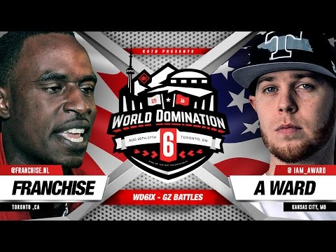 KOTD - Rap Battle - Franchise vs A. Ward | #WD6ix