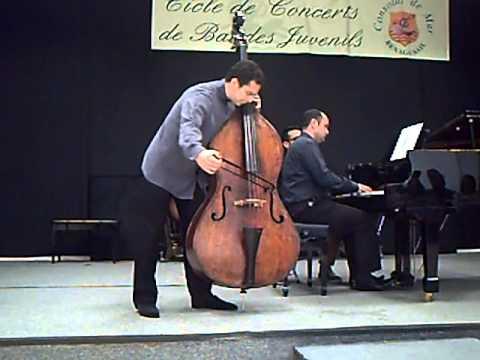 Dittersdorf Double bass concerto 1st mvt - Edicson Ruiz (Berliner Philarmoniker) Basilio Fernández