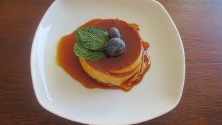 Crème Caramel/ Flan - Cremig, Einfach Und Lecker! /banh Flan