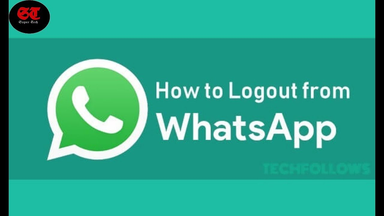 How To Logout Whatsapp Whatsapp Logout Kaise Kare Whatsapp Logout From All Devices Youtube