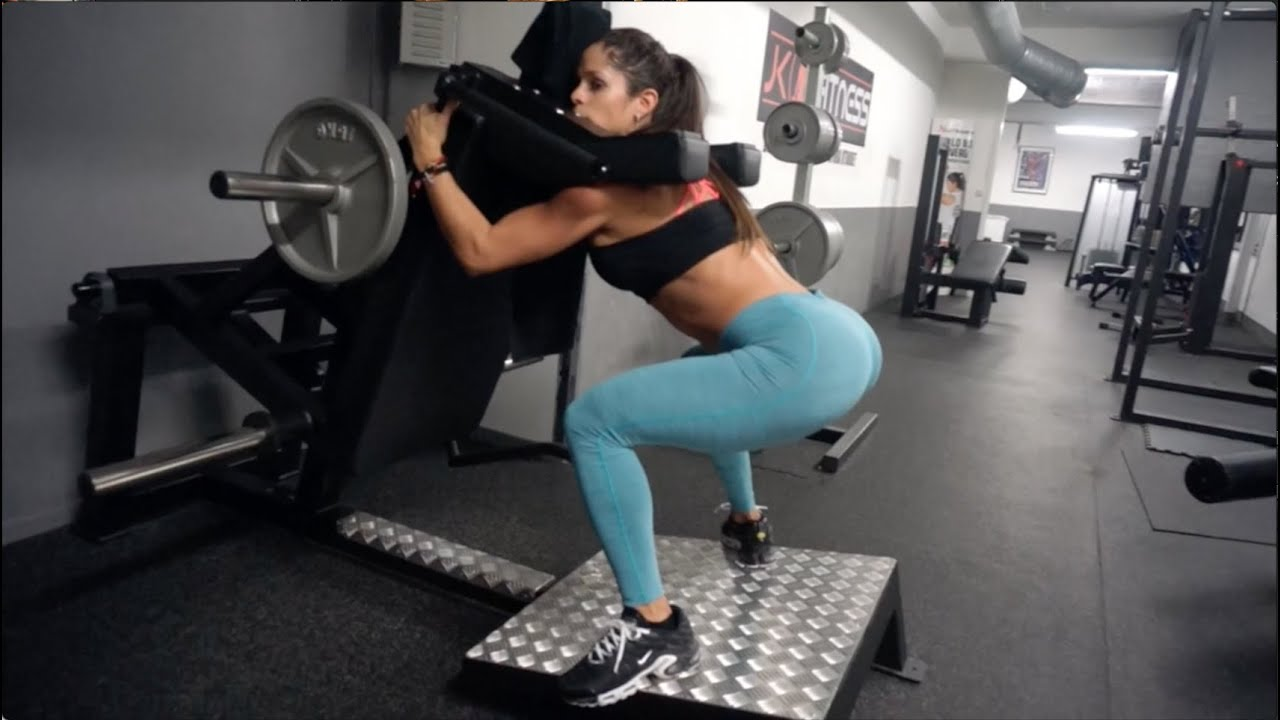 Michelle Lewin Workout Perfect Booty Shaper Doovi-6075