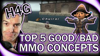 Top 5 MMORPG Elements! - From New and Old