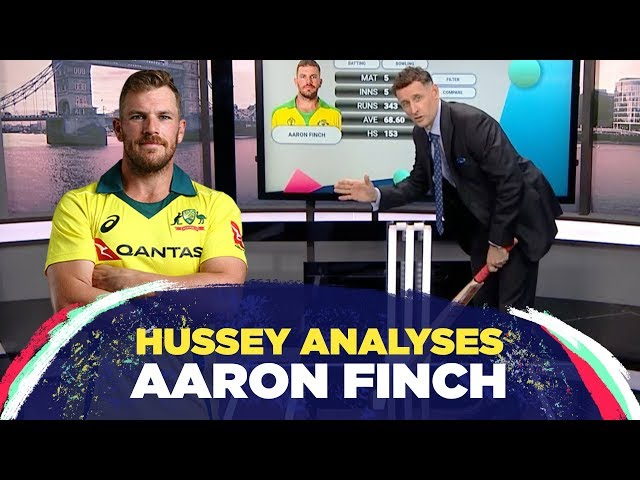How Aaron Finch turned his form around
