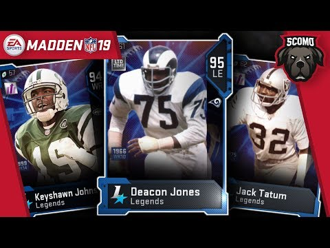 legend-blitz-bundle!-jack-tatum,-keyshawn-johnson,-and-ltd-deacon-jones-madden-nfl-19