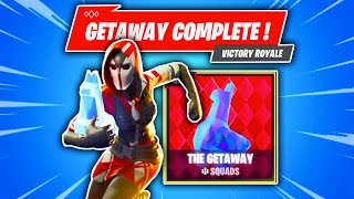 So We Played The New GETAWAY Mode.... (Fortnite Battle Royale)
