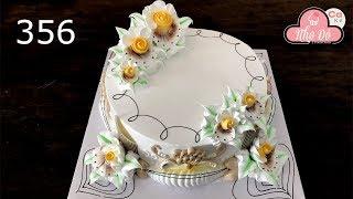 chocolate cake decorating buttercream (356) Cách Làm Bánh Kem Đơn Giản Đẹp - Tinh Tế (356)