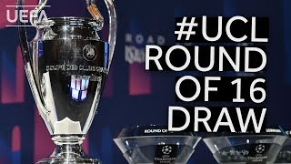 201920 UEFA Champions League Round of 16 Draw