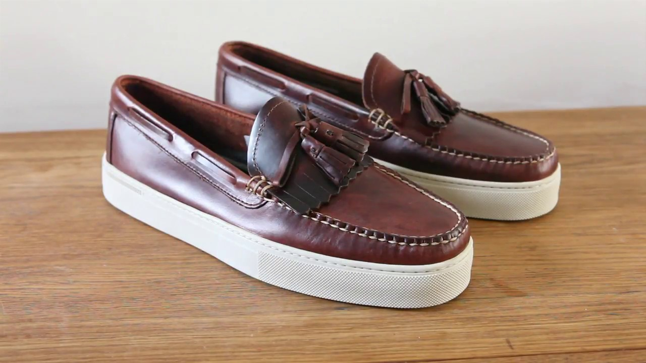 Review GH Bass Weejuns Cup Larson Penny Loafers Sneaker ...
