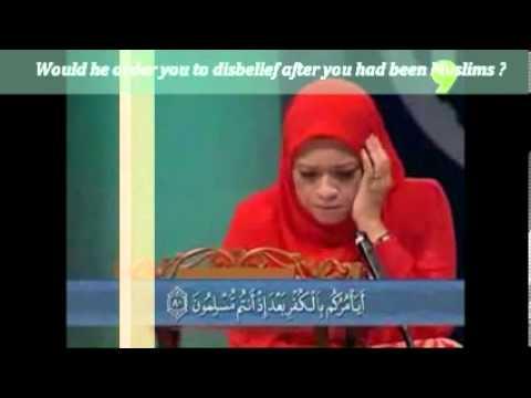 Quran English - Sharifah Khasif Fadzilah Syed Badiuzzaman (Malaysia)
