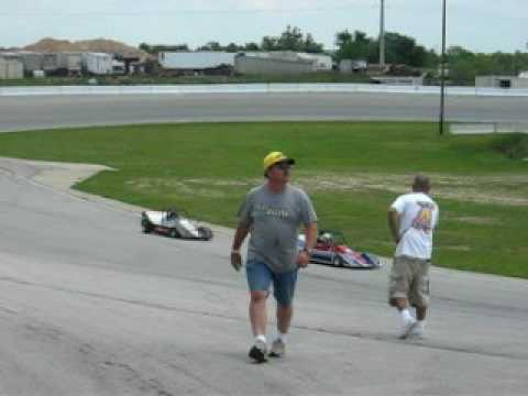 Hayden go kart CAN-AM racing JRP Speedway Tulsa, OK