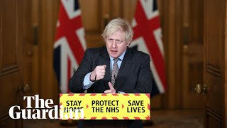 Boris Johnson holds UK Covid press briefing – watch live