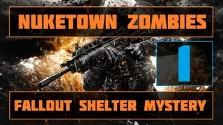 Nuketown Zombies! | Fallout Shelter Easter Egg! | Part 1