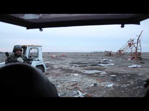 Driving Donetsk Airport