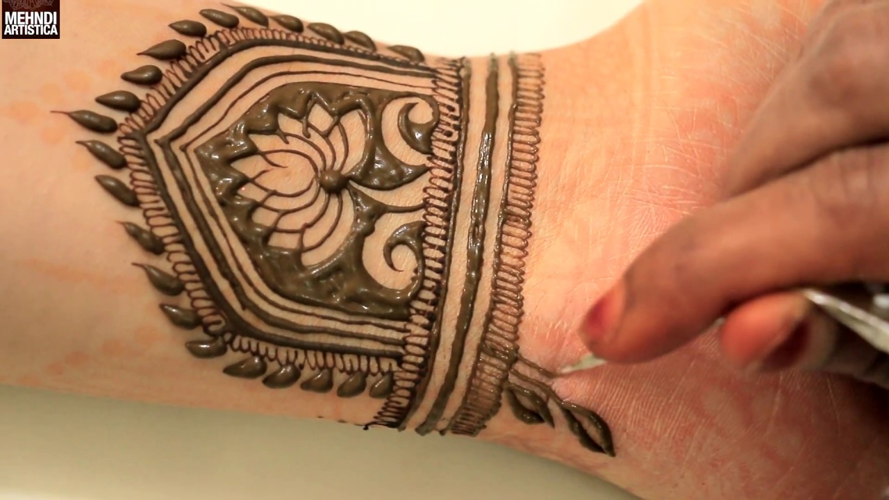 Easy Simple Beautiful Beginners Bridal Mehndi Designs Learn Step By