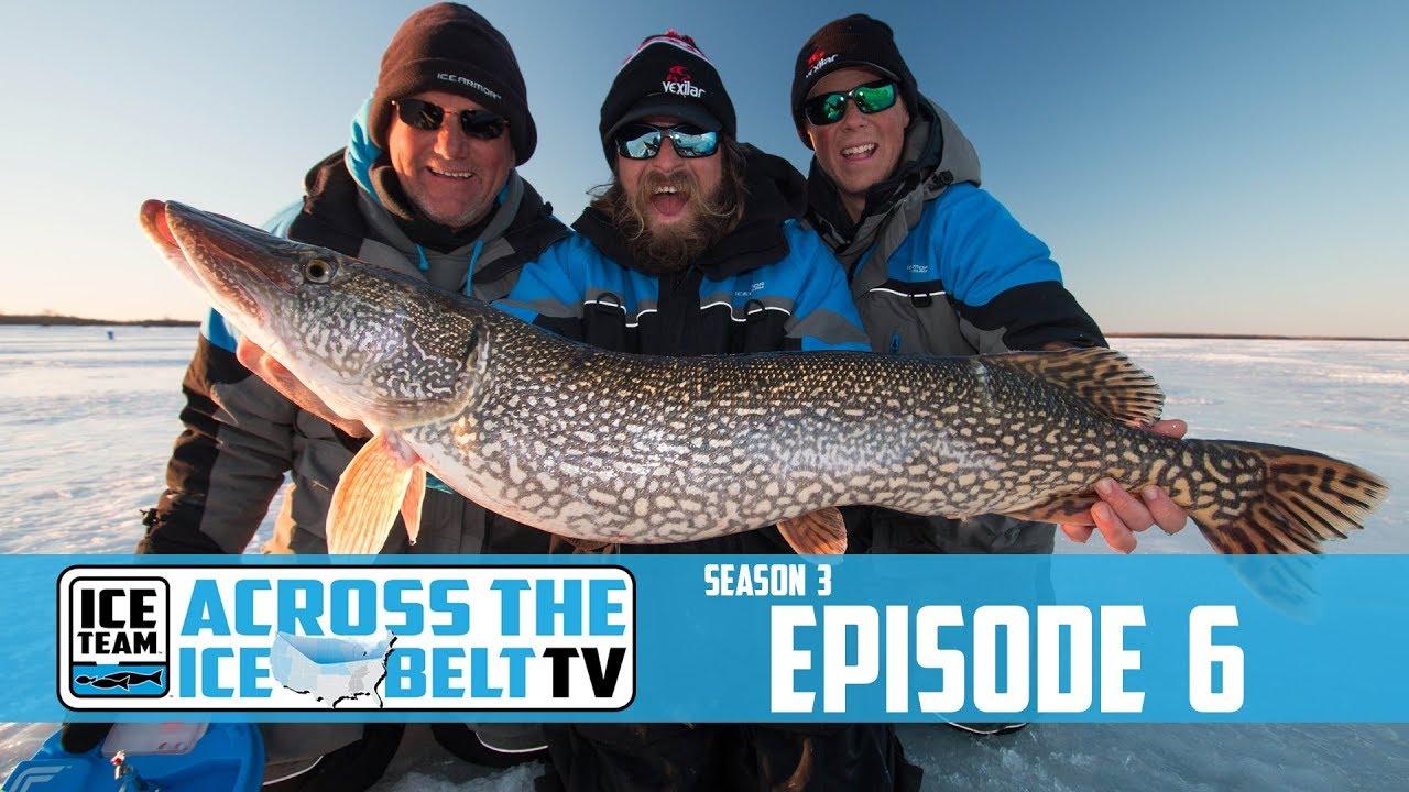 Tip-up Ice Fishing for Buffalo Bay Northern Pike - Hunt Fish