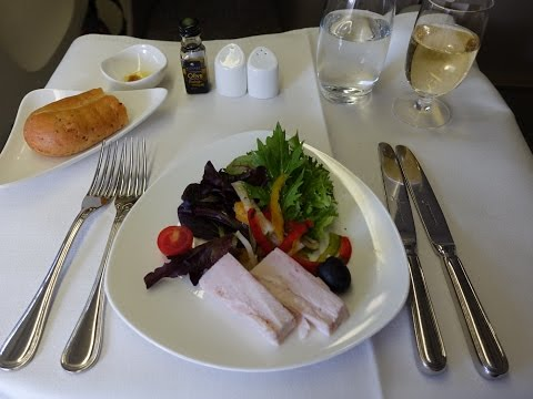 Asiana 777-200ER Business Class Sydney to Incheon (Seoul)